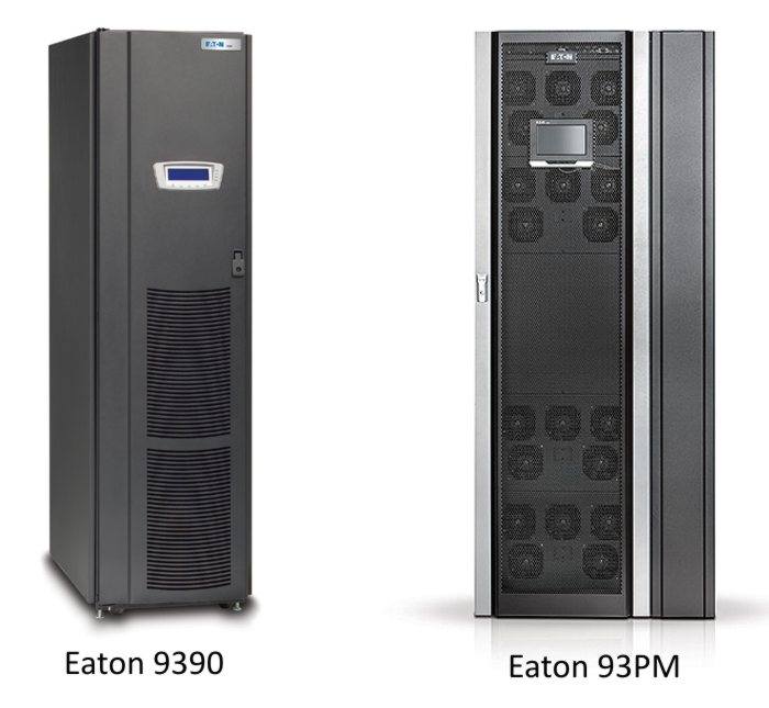 Eaton UPS 9390 replaced with 93pm